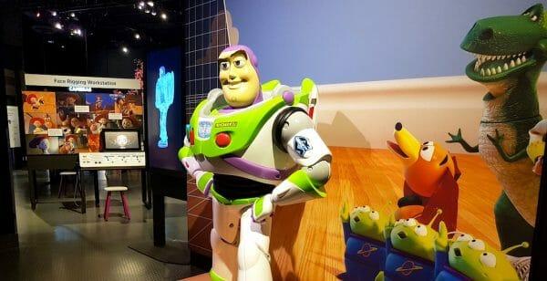 Pixar exhibition at Science World