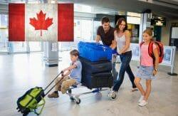 переезд в Канаду, первые недели жизни в Канаде