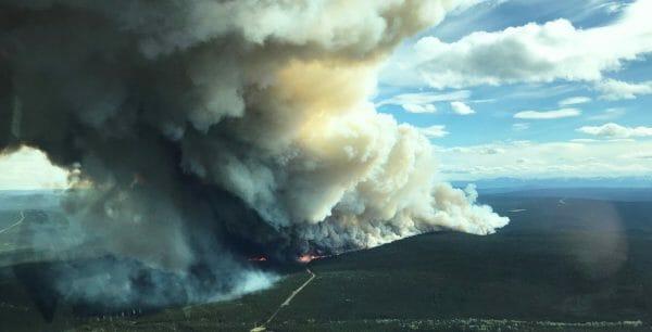 пожар Канада