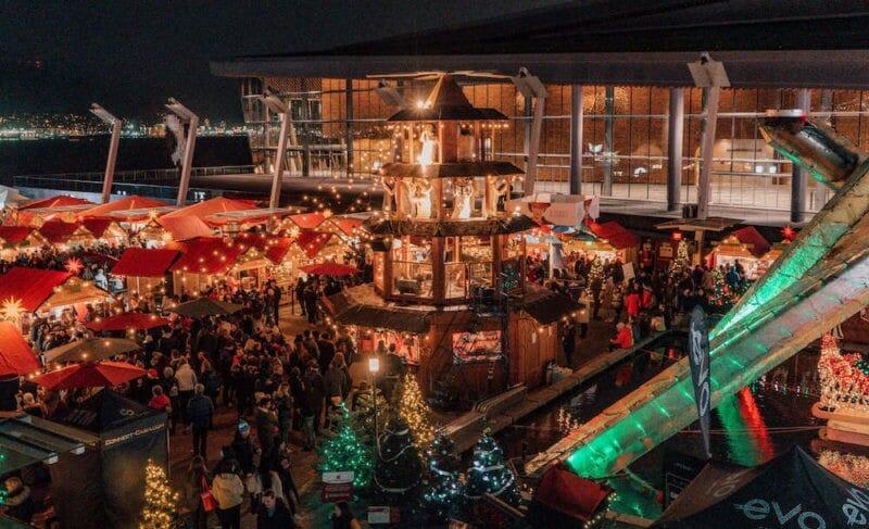 рождественская ярмарка в ванкувере