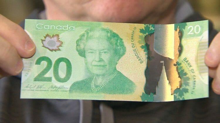фальшивые деньги Канады