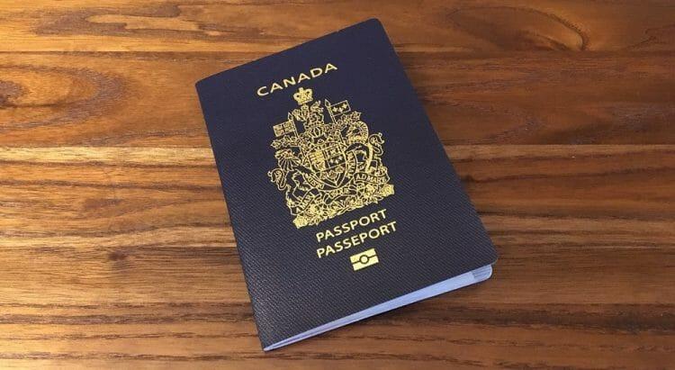 как выглядит паспорт канады