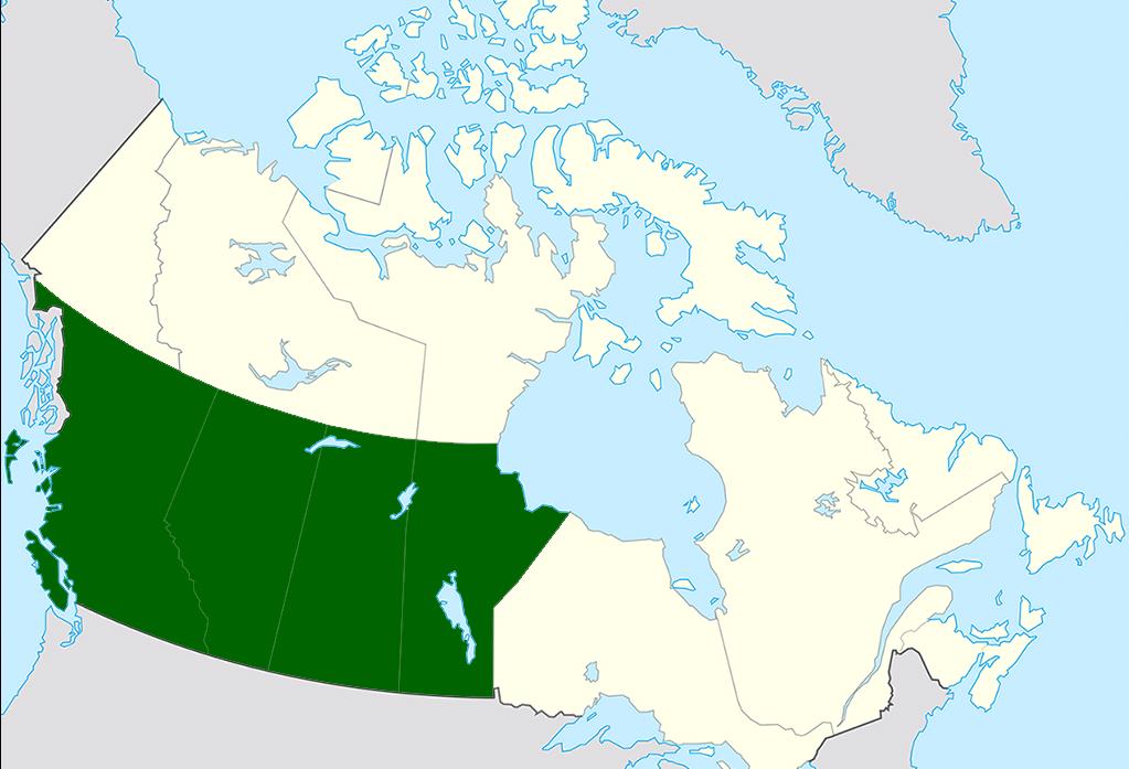 западная канада