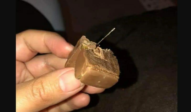 конфета иголка