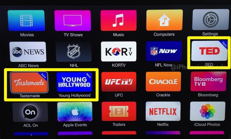 запуск apple tv