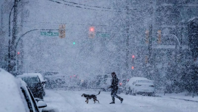 канада зима
