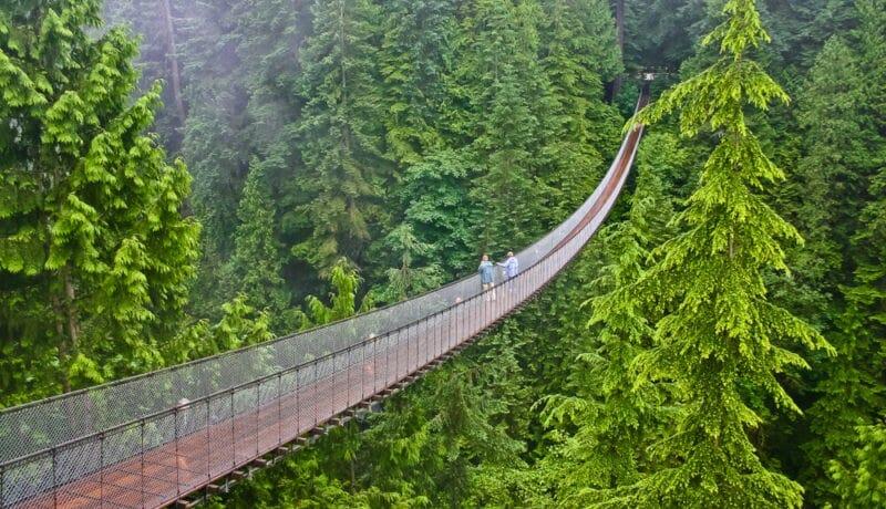 мост капилано канада