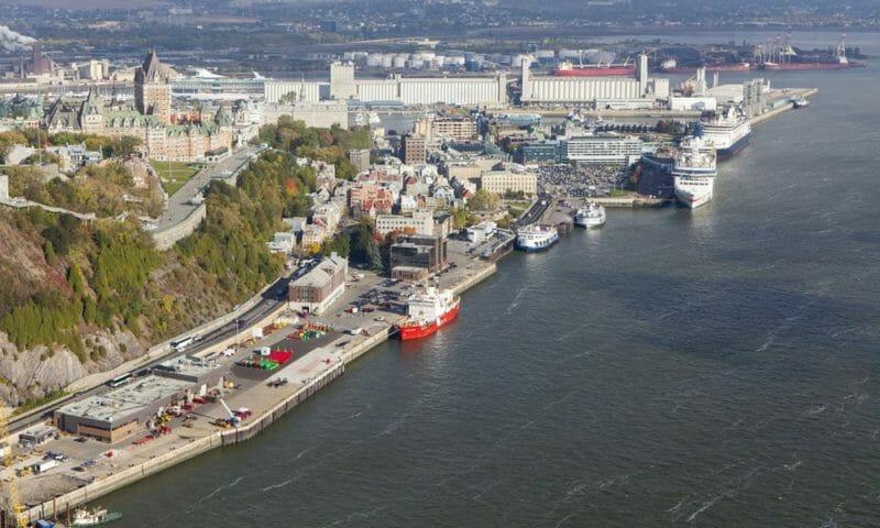 порт в квебеке