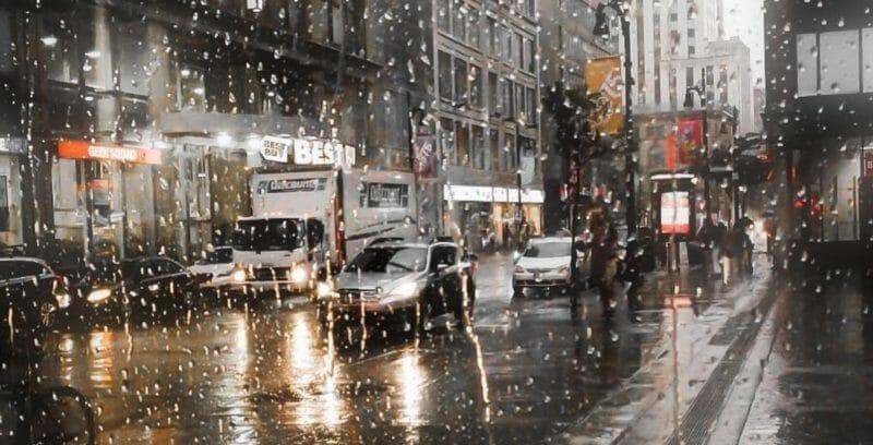 монреаль дождь