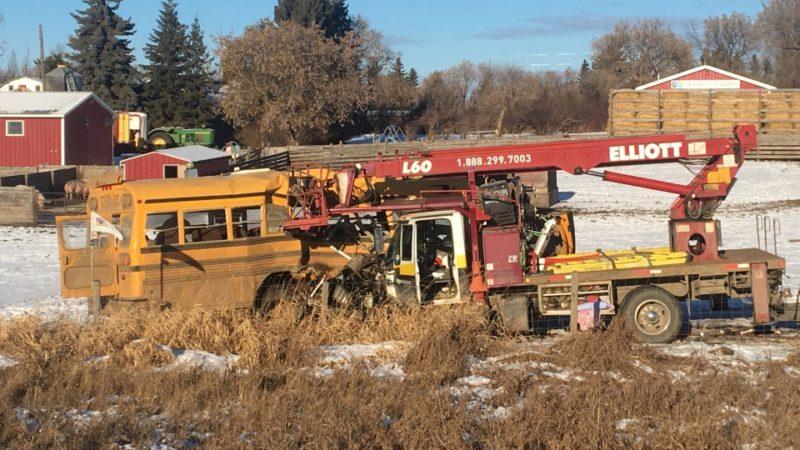 школьный автобус дтп