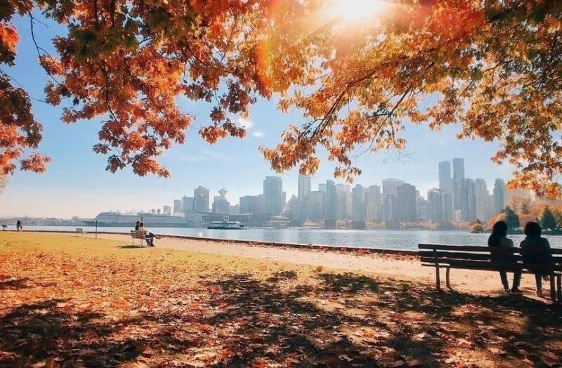 ванкувер осень
