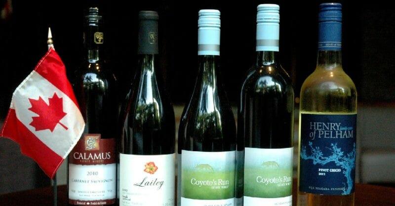 канада вино