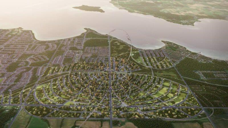 город будущего торонто