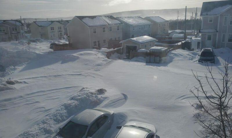 снег 2020