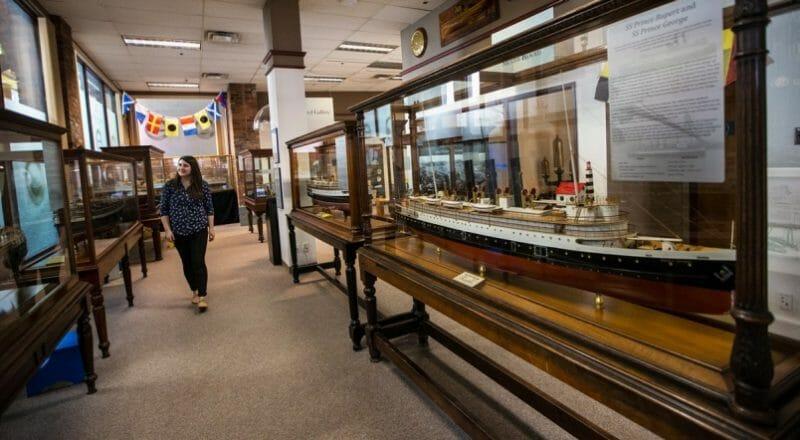 морской музей виктория