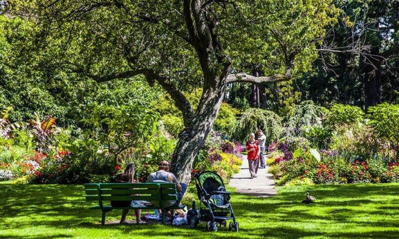 парк в виктории