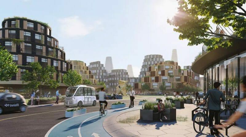 город будущего канада