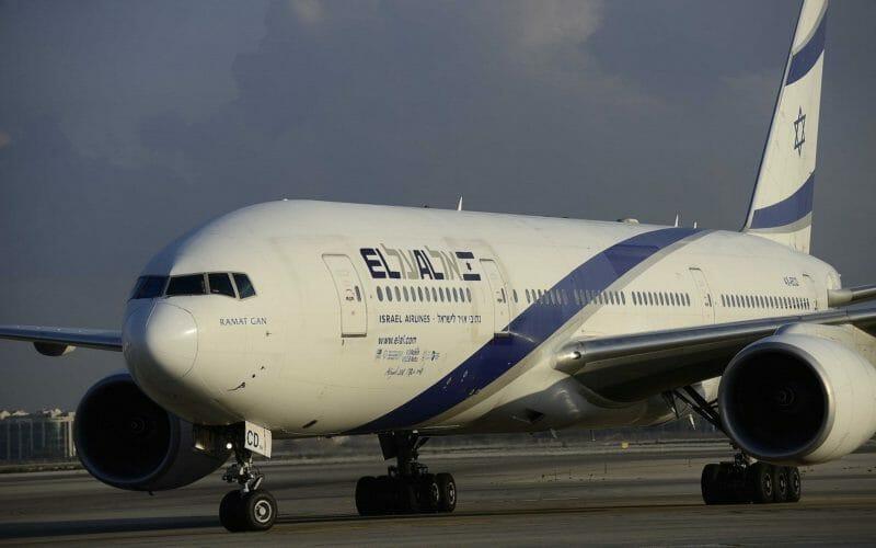 эль аль самолет