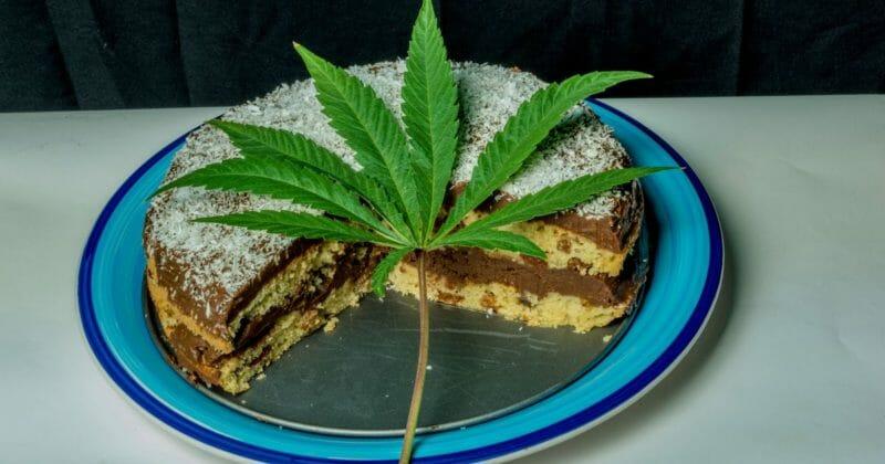 торт с марихуаной