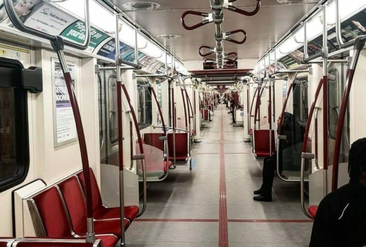метро пустое