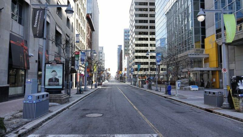 оттава улицы пустые