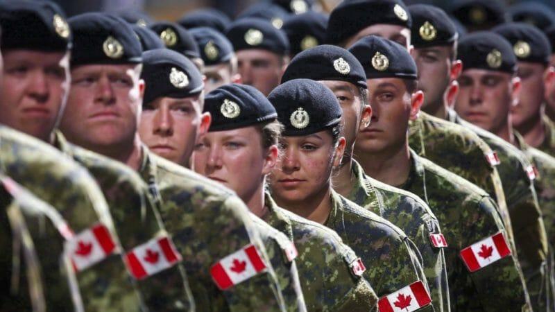 служба в армии канады