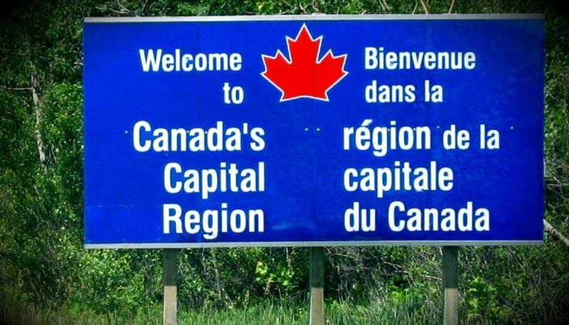 двуязычие в канаде