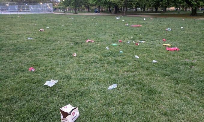 мусор канада