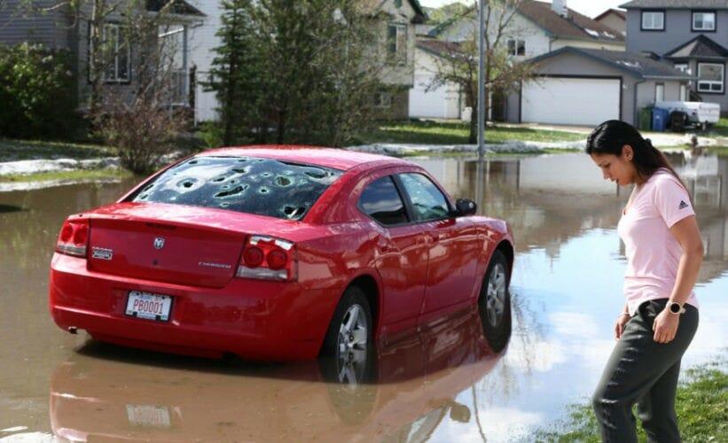 канадская провинция шторм
