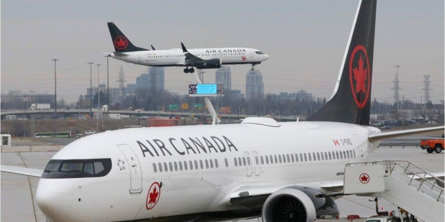 летнее расписание канадских авиакомпаний