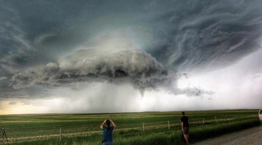 шторм в альберте