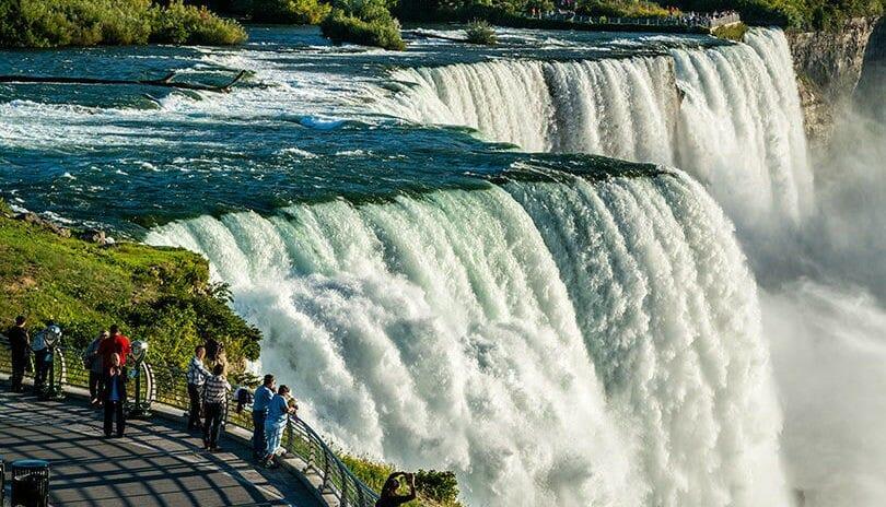 высота ниагарского водопада