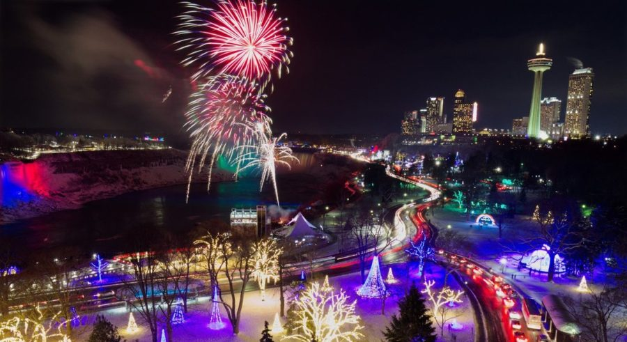 зимний фестиваль огней