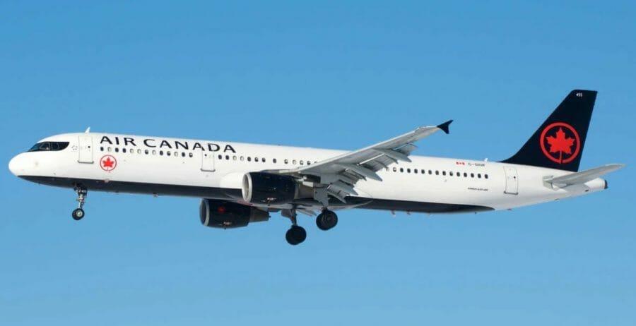 канадская авиакомпания