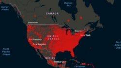 карта коронавирус сша