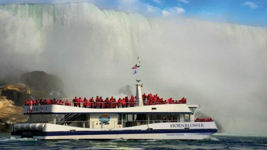 ниагарский водопад где находится
