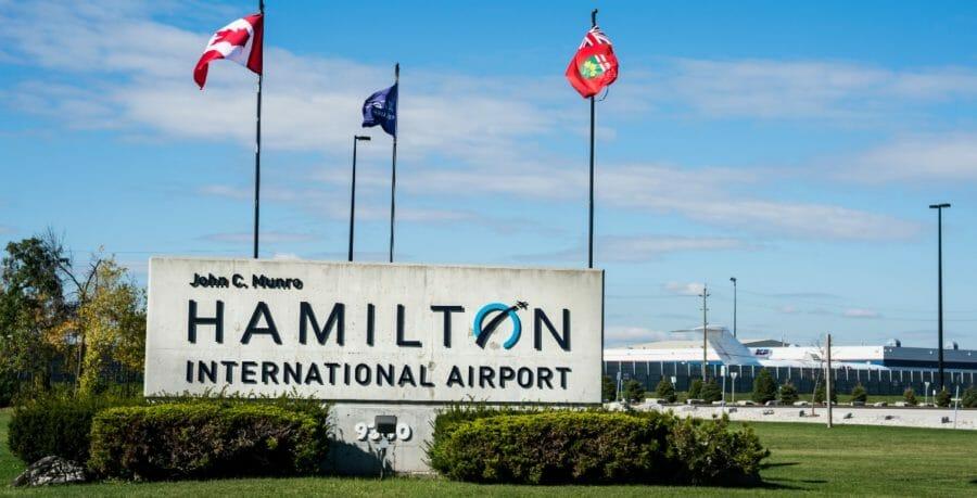 гамильтон аэропорт