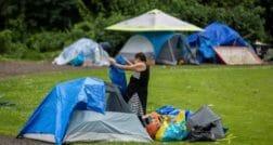 бездомные канада