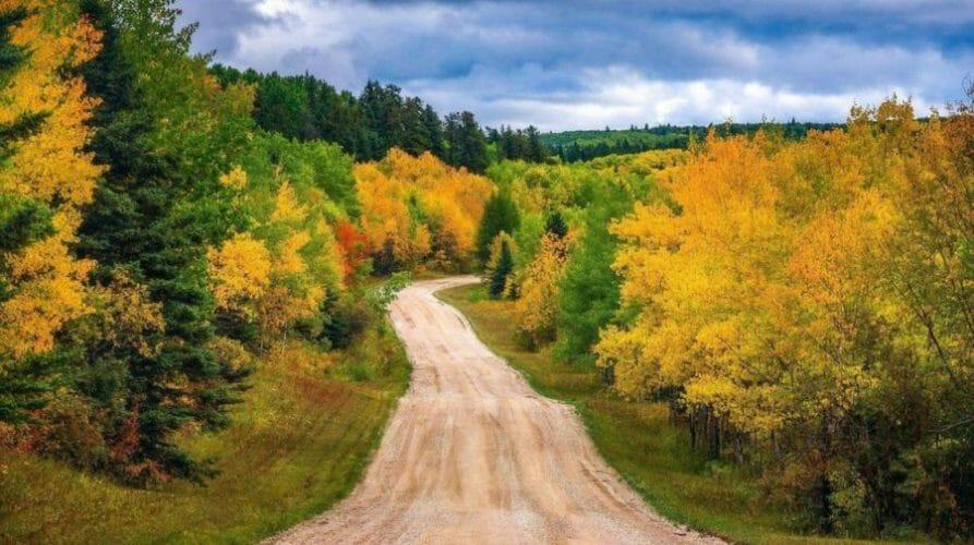 осень в канаде