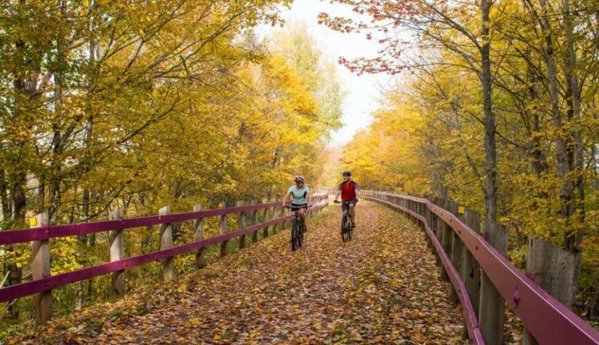осень канада фото