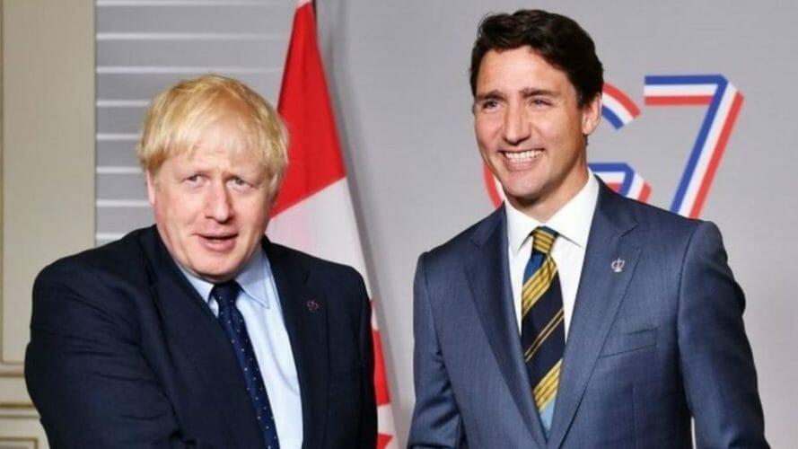 канада великобритания