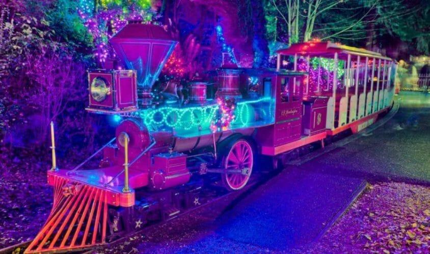 рождественский поезд ванкувер