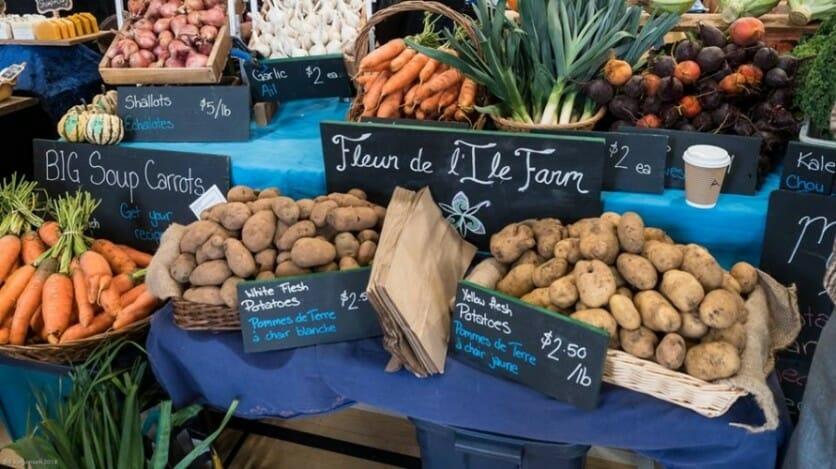 фермерские рынки ванкувер