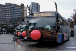 автобусы рождество