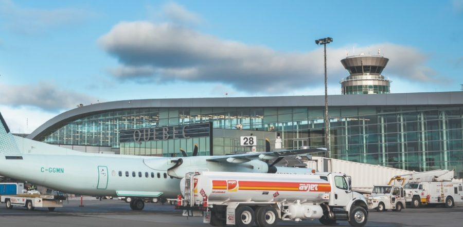 аэропорт квебек