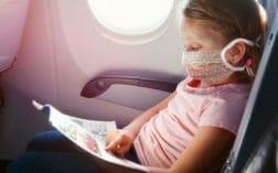 дети маска самолет