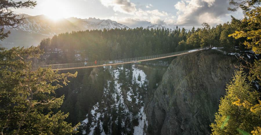 мост британская колумбия