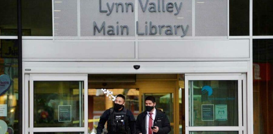 ванкувер библиотека нападение