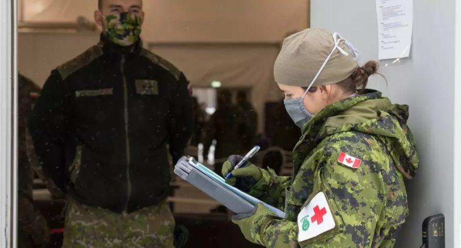 военные помощь карантин