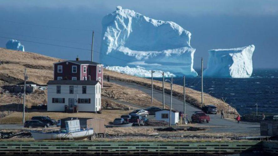 аллея айсбергов
